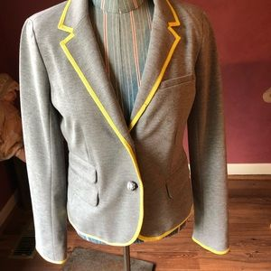 GAP Jackets & Coats - Gap Academy Blazer in Heather Grey Ships Same Day